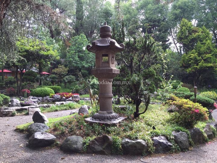 Jardín contemplación