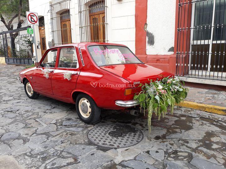 Auto clásico Renault 12 del 73