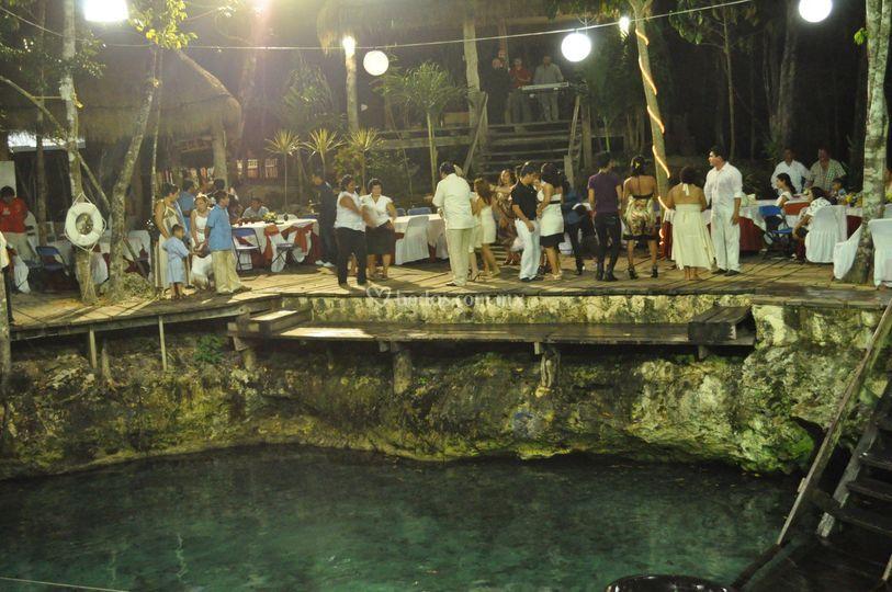 Boda en Cenote