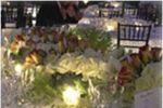 Mesa con centro de mesa de Ex Hacienda de Santa M�nica