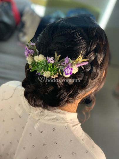 Hairstyle nupcial