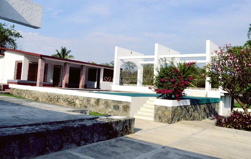 Quinta san fernando for Jardin xochicalli