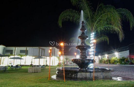 Evento en la noche