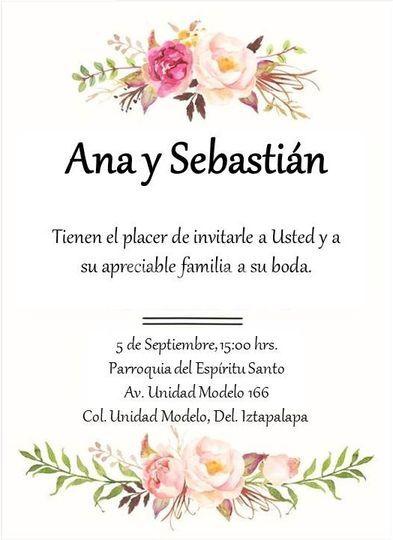Ana y Sebastián