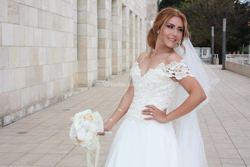Estudio fotográfico, boda