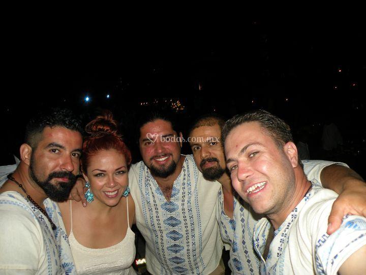 Uniformados en Cancún