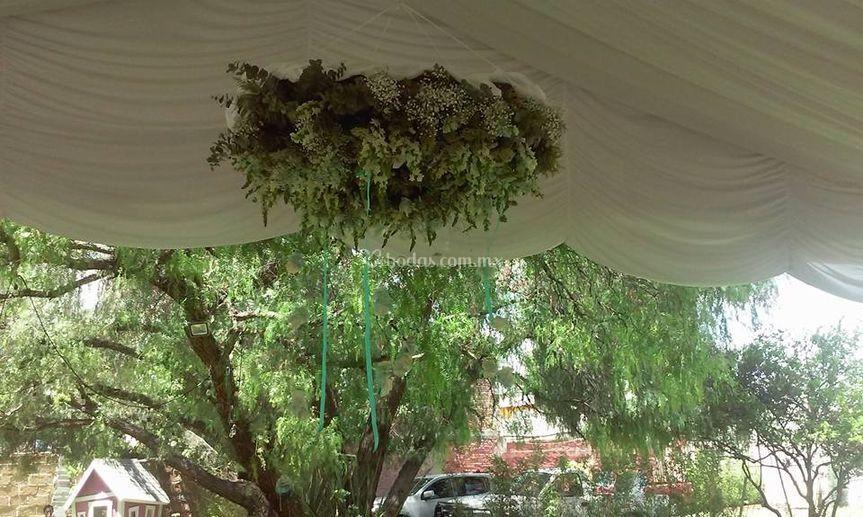Jardines Colgantes De Concepto Floral Foto 2