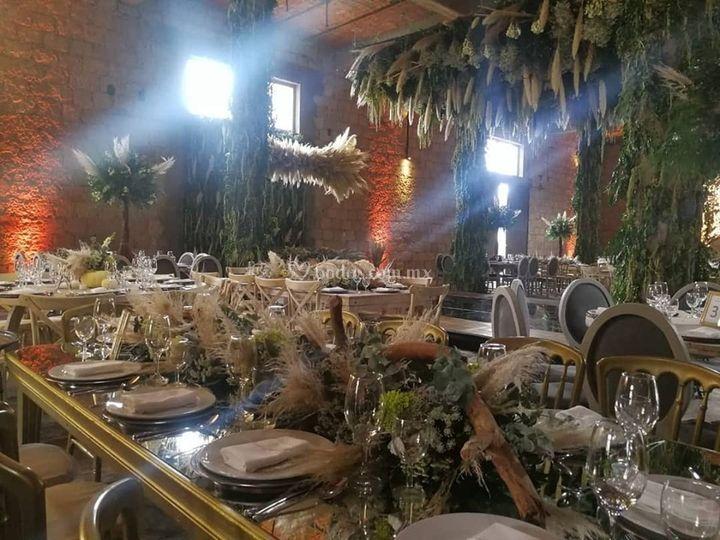 Una boda muy elegante