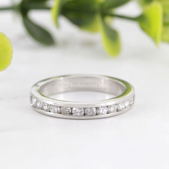 Churumbela/Argolla diamantes