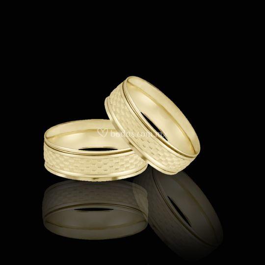 Argollas Oro de 14k