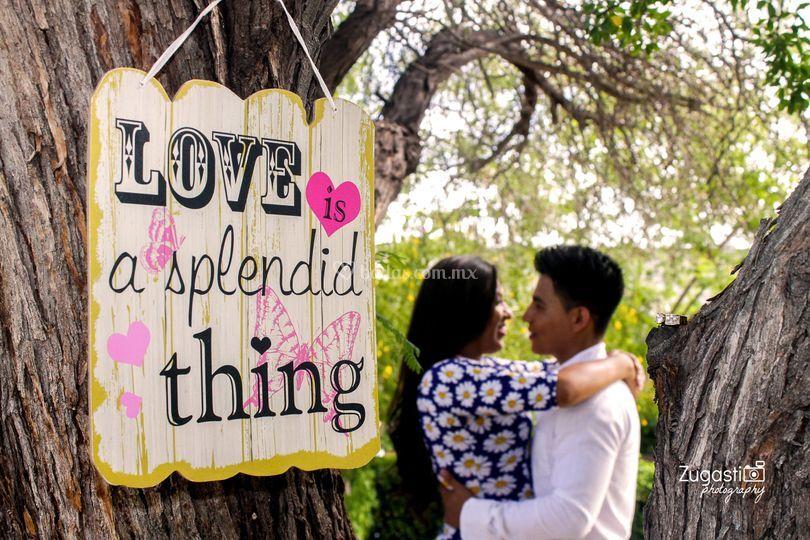 Love is a splendid thing