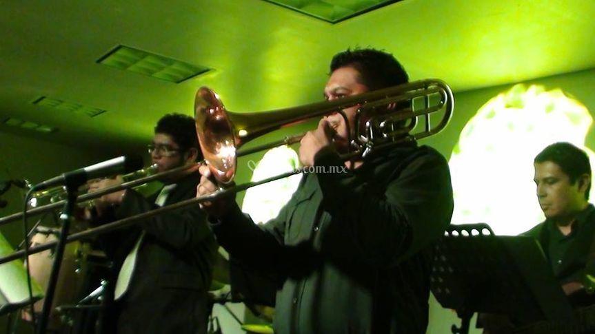 Trombon y trompeta