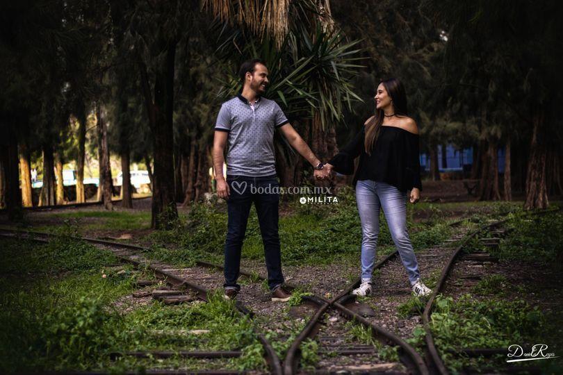 Sesión romántica Jess & Omar