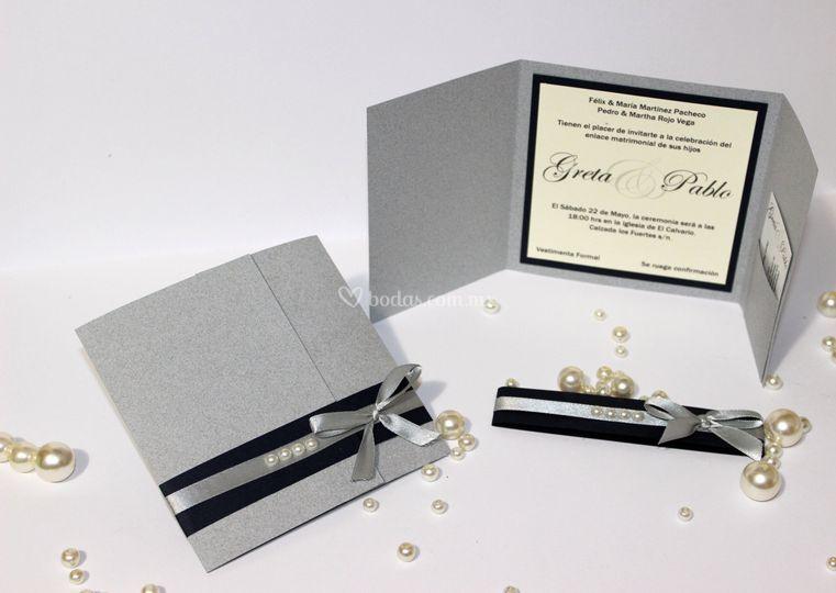 Invitación perlas