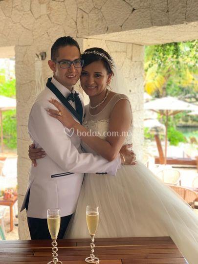 Marycruz y Gustavo