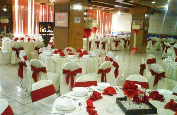 Salón para la boda