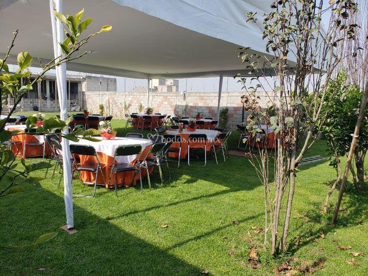 Jardín Cipreses Temetatitla