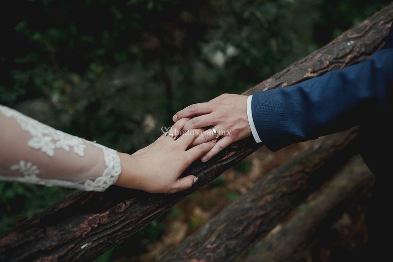 Sesión de casados