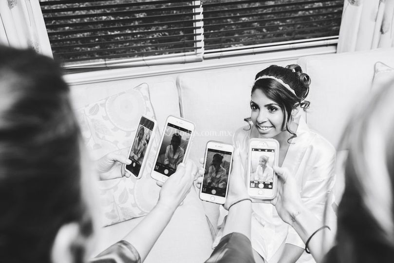 Foto a la novia