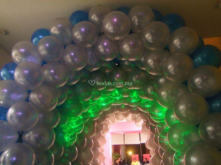 Tunel de globos