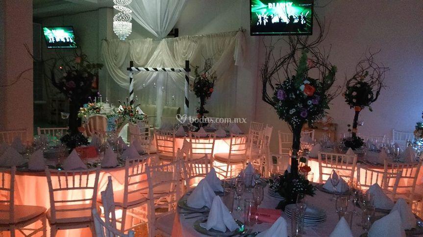 Eventos Mababus decoración