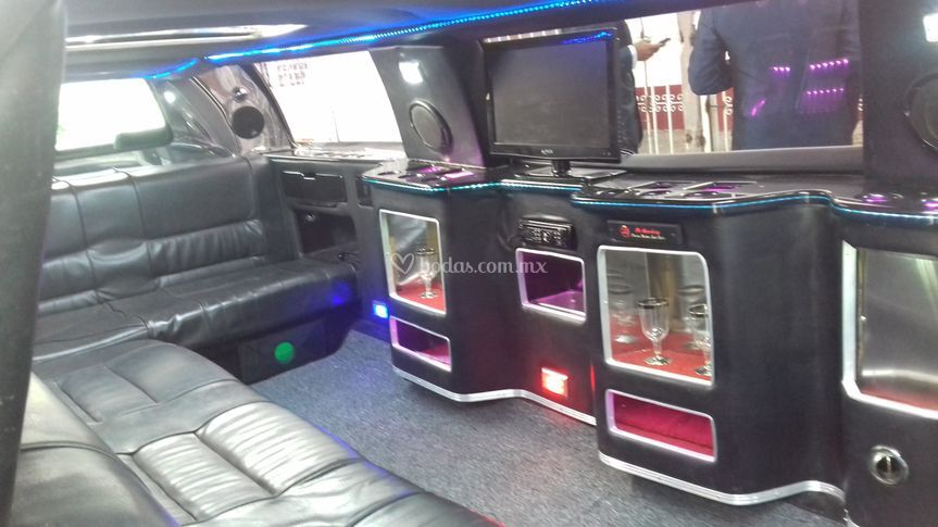 Interior limousin blanca