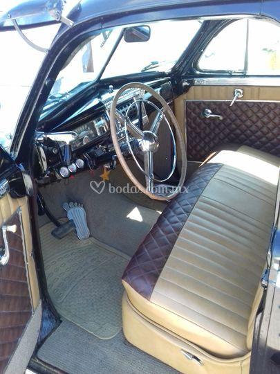 Chrysler 1948 interior