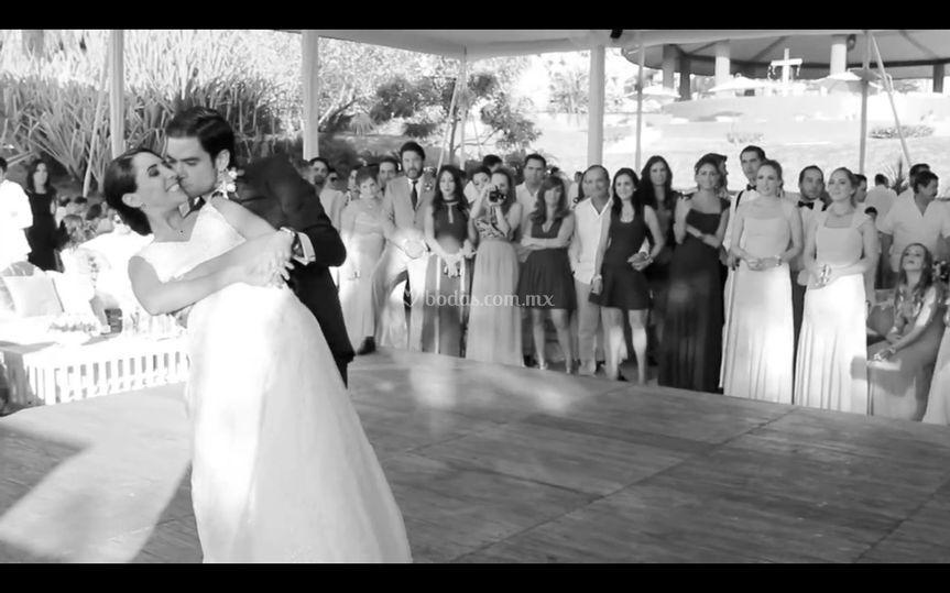 Baile boda andrea y beto