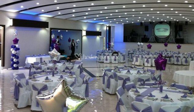 Lux eventos for Acuario salon de fiestas