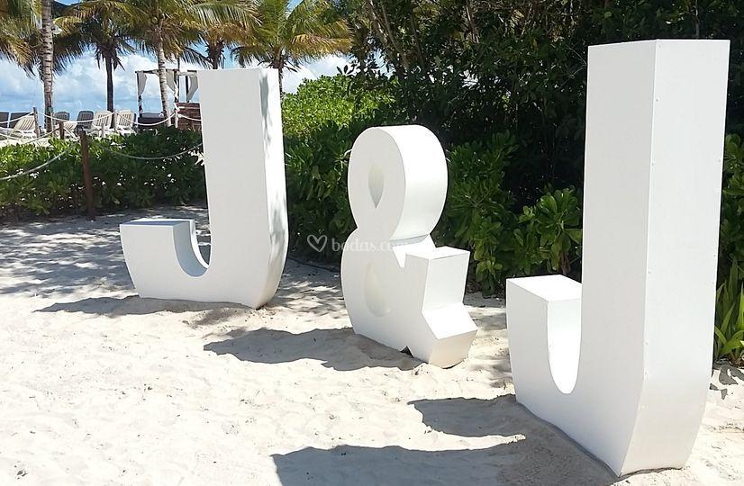 Letras Gigantes Riviera Maya
