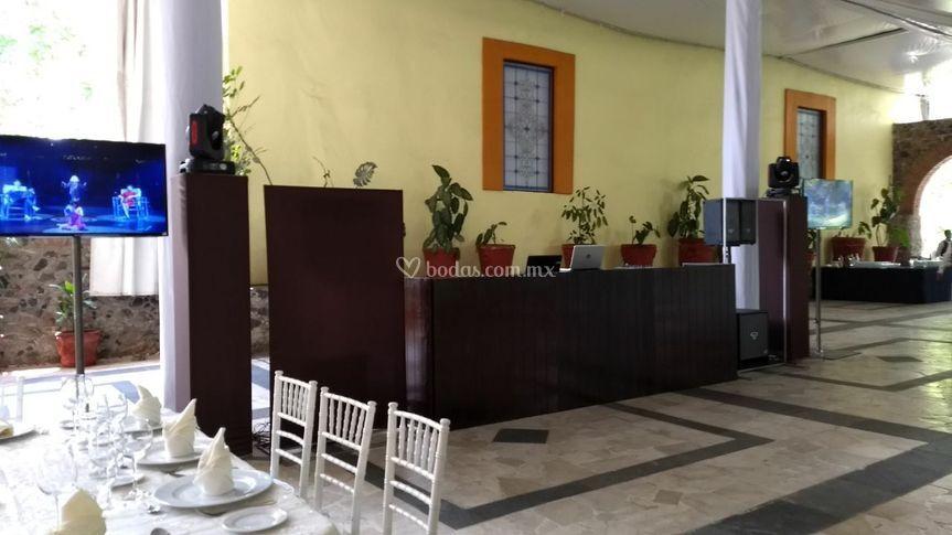 Cabina vintage La Alfonsina