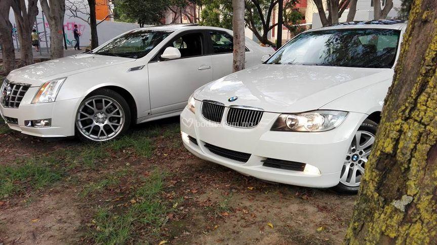 BMW 325i y Cadillac CTS