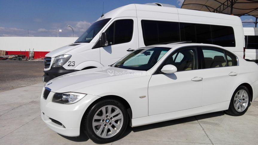 BMW 325i y sprinter 2018