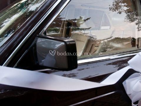Mercedes 560 detalle