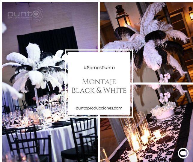 MontajeBlack&White