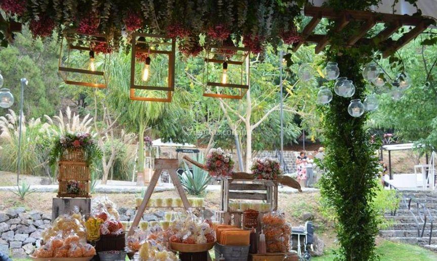 Mesas de botanas