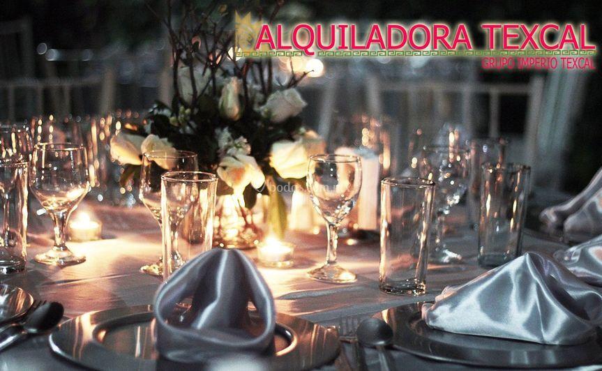 Centros de mesa boda invierno