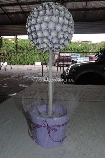 Topiario para boda