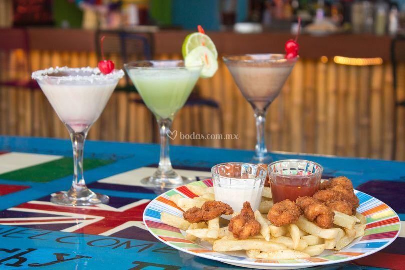 Martinis de sabores