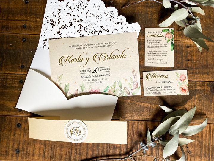 Set de boda ivory &gold