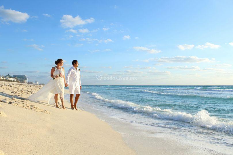 Boda en Cancún