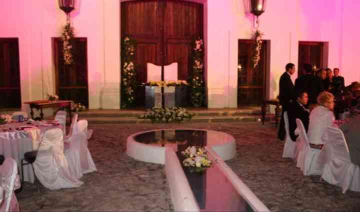 Ceremonia en el exterior