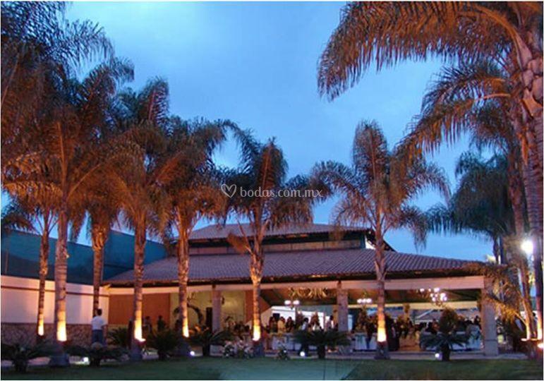 Iluminación de eventos de Villa Campestre