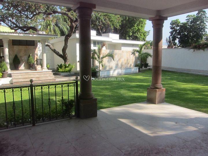 Yr jard n de eventos for Jardin villa xavier