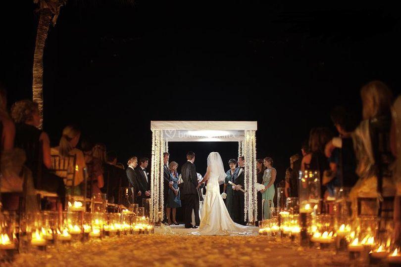 Ceremonia de noche