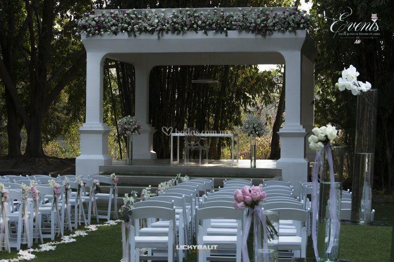 Montaje Ceremonia