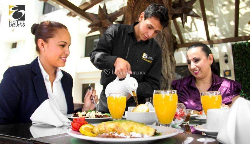 Desayuno La pergola