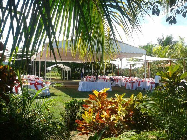 Jardín de bodas Barreto no