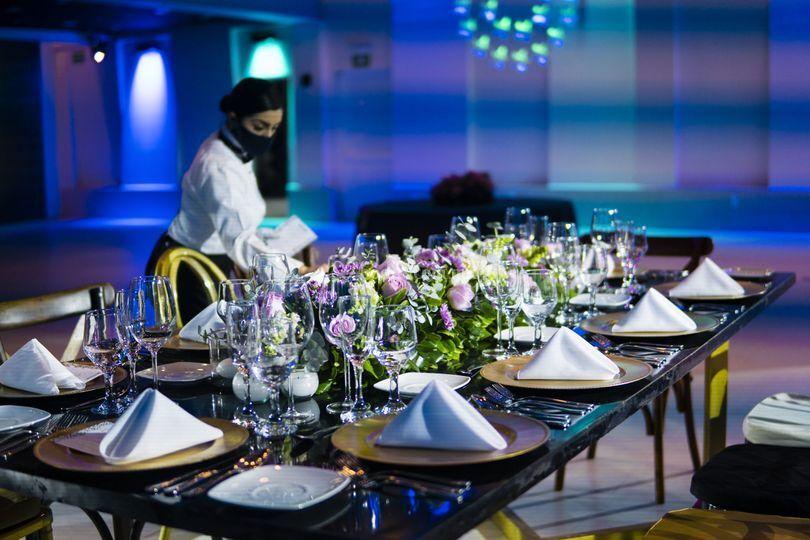 Servicio banquete