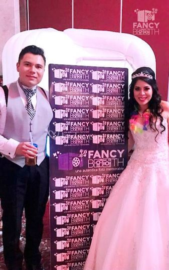 Fancybooth regalando sonrisas